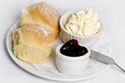 Scones, jam & cream