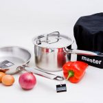 Stainless steel pots and pans - In & Out at Mogo Kitchen Shop nr Batemans Bay