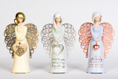 China angels - gifts in Mogo gift shop near Batemans Bay